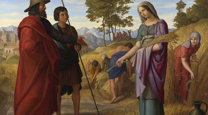Book of Ruth and Shavu'ot: Return of and redemption for Israel and the nations
