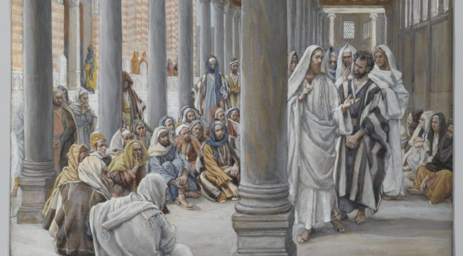 Why was Yeshua in the temple on Chanukah?