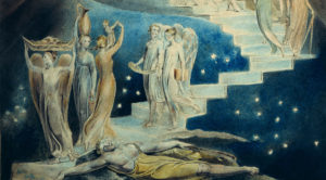 """Jacob's Dream"" by William Blake, c. 1805"